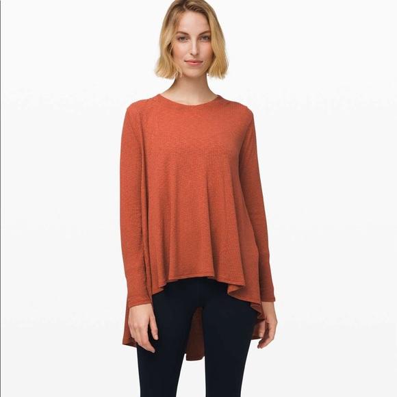 Lululemon Dare to Drape long sleeve XL *new w/ tag